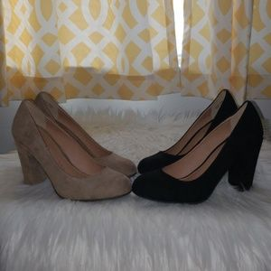 NWOB Chinese Laundry suede pumps